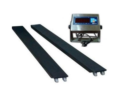 Весы балочные МИДЛ МП 2000 ВЕДА Ф-1 1000; 1200х120х45мм индикатор нержавейка