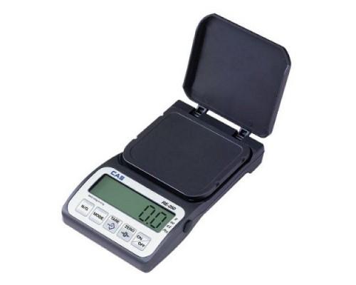 Весы карманные CAS RE-260 до 250г d=0,05г
